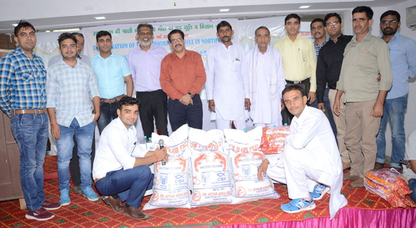 First Shrimp feed mill in Northern India, under public private partnership mode (PPP) between ICAR-CIBA, Chennai and Dr Attar Aqua Feed, Bhiwani, Haryana, started operation