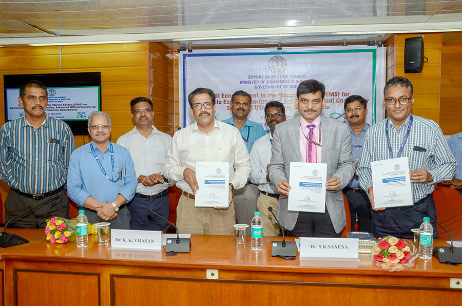 Export Inspection Council (EIC), Govt. of India and ICAR-Central Institute of Brackishwater aquaculture (CIBA), Chennai, jointly conducted skill enhancement programme for Fisheries officials